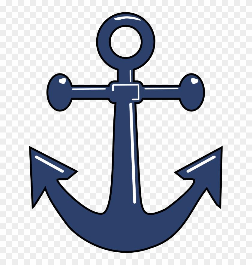 Ship Free Ancla - Navy Anchor #56346
