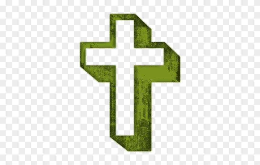 Green Cross Clipart - Cross Clip Art Clear #56373