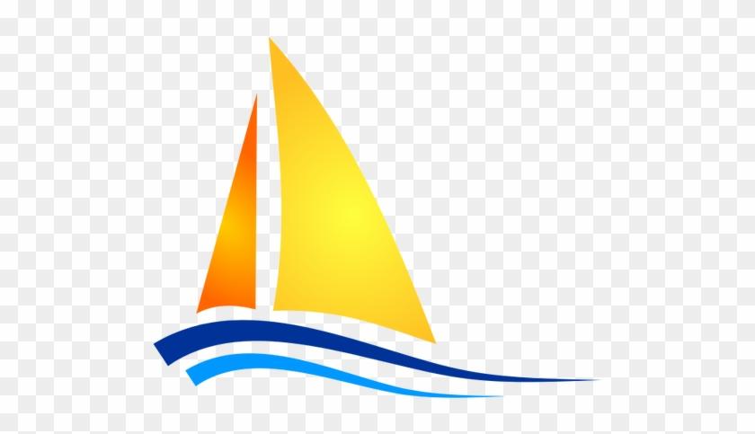 Sailboat Free Clipart Sailing Boat Vectors - Sail Boat Icon #56388
