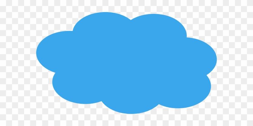Blue Clouds Background - Blue Cloud Clipart #56466