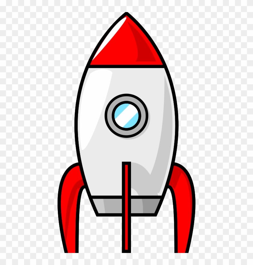 Ship Anchor Free A Cartoon Moon Rocket - Cartoon Rocket Ship #56506
