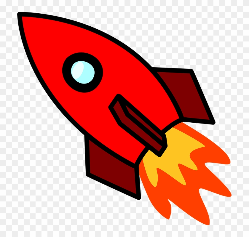 Rocket Ship Clip Art #56613