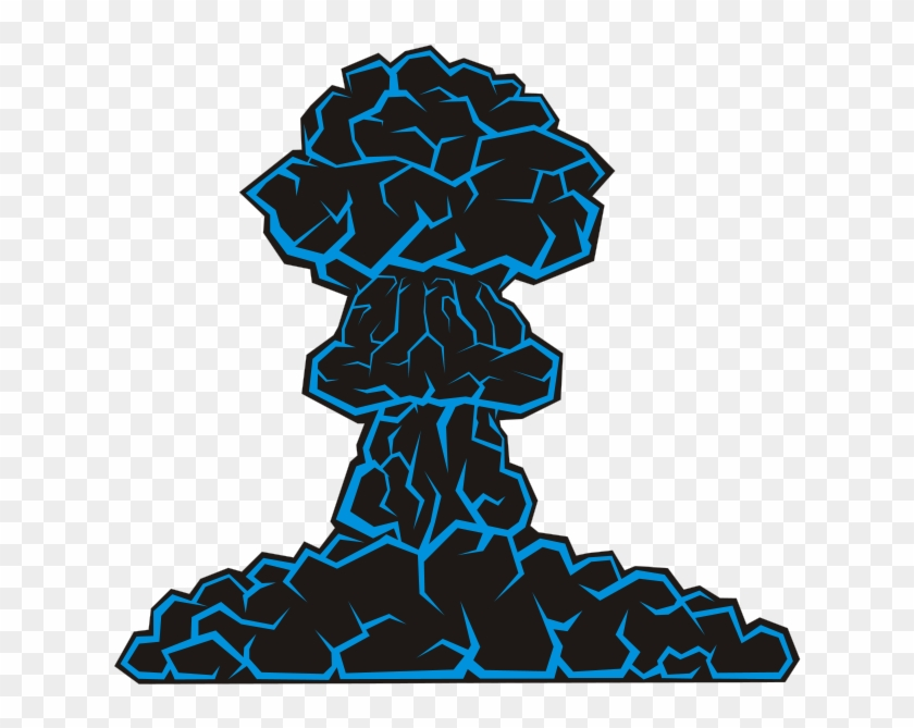 Japanese Poet On Cloud Clipart, Vector Clip Art Online, - Mushroom Cloud Clip Art #56638
