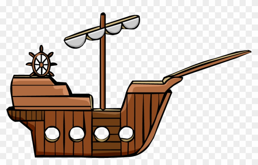 Pirate Ship - Pirate Ship Png #56849