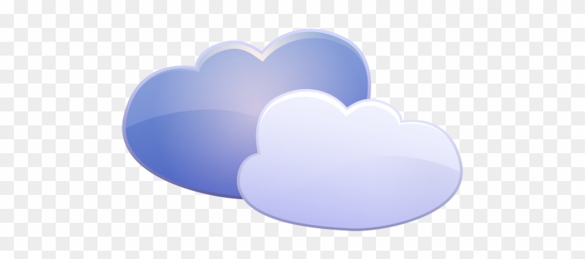 Clouds Weather Icon Png Clip Art - Cloud #56935
