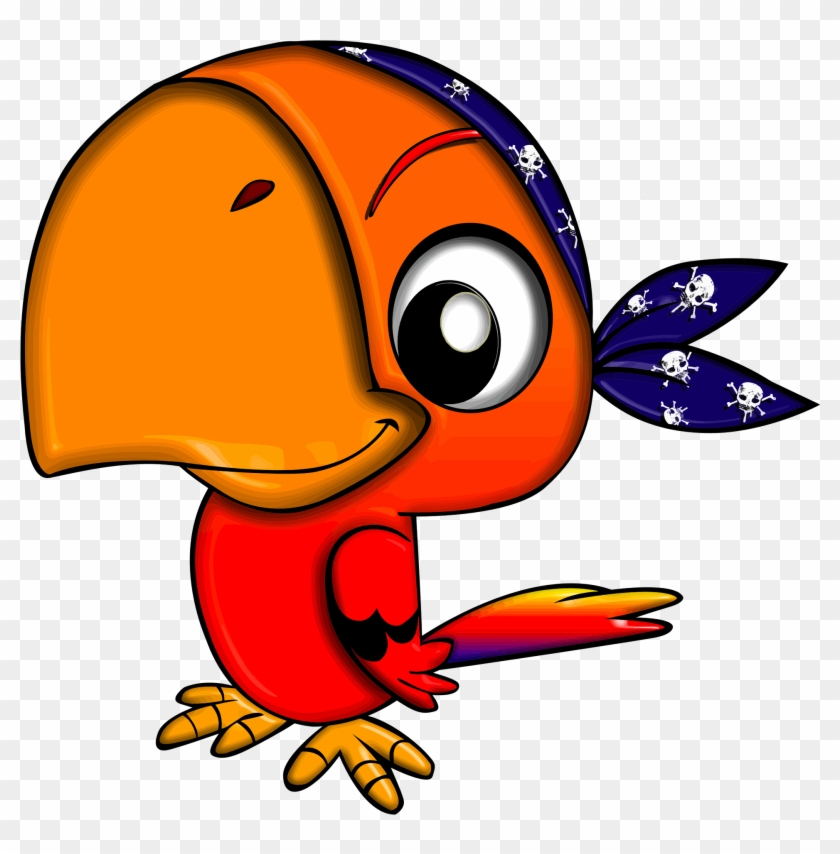 More From My Site - Pirate Parrot Clip Art #56942