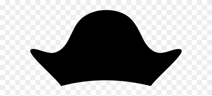 Black Pirate Hat Clip Art At Clker - Pirate Captain Hat Clip Art #56945