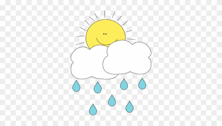 Sun Behind Rain Cloud - Rain Sun And Clouds #56954