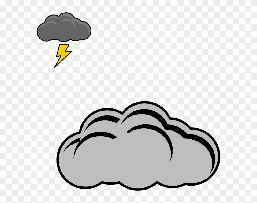 Thundercloud Clipart - Thunder Cloud Clipart #56966