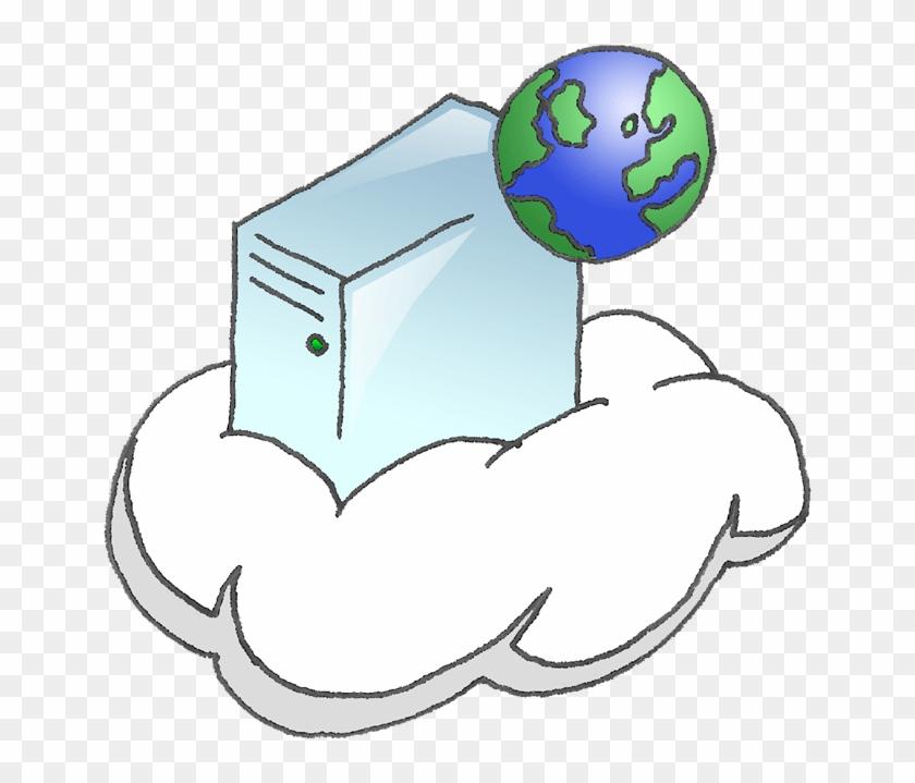 Visio Cloud Shape - Internet #56998