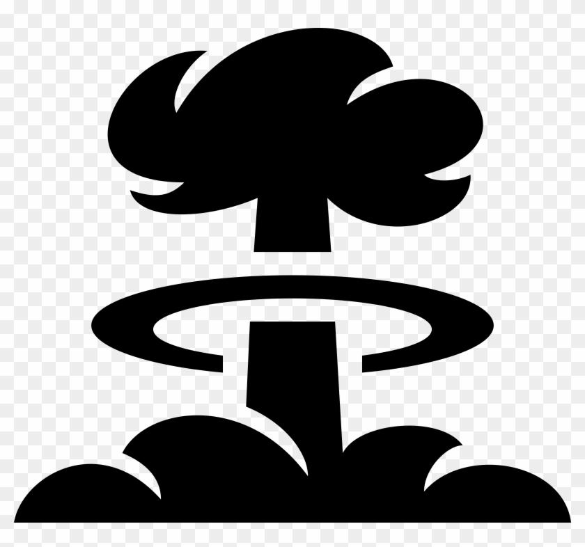 Mushroom Cloud Clip Art #57001