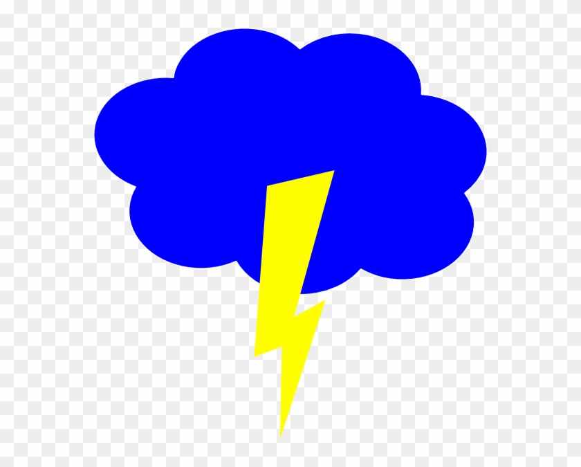 Clouds And Lightning Clipart #57042