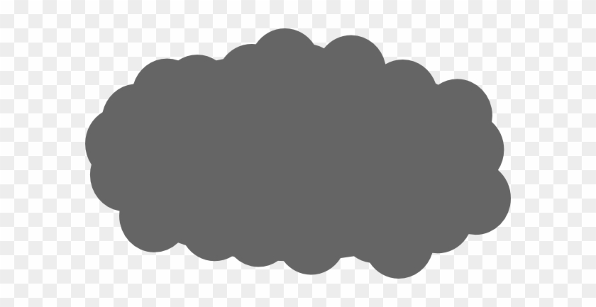 Cloud Clip Art - Dark Cloud Clip Art #57050