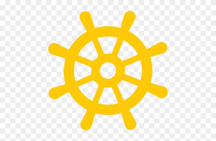 Ship's Wheel Maritime Transport Sailor Clip Art - Simple Tattoo Designs Anchor #57078