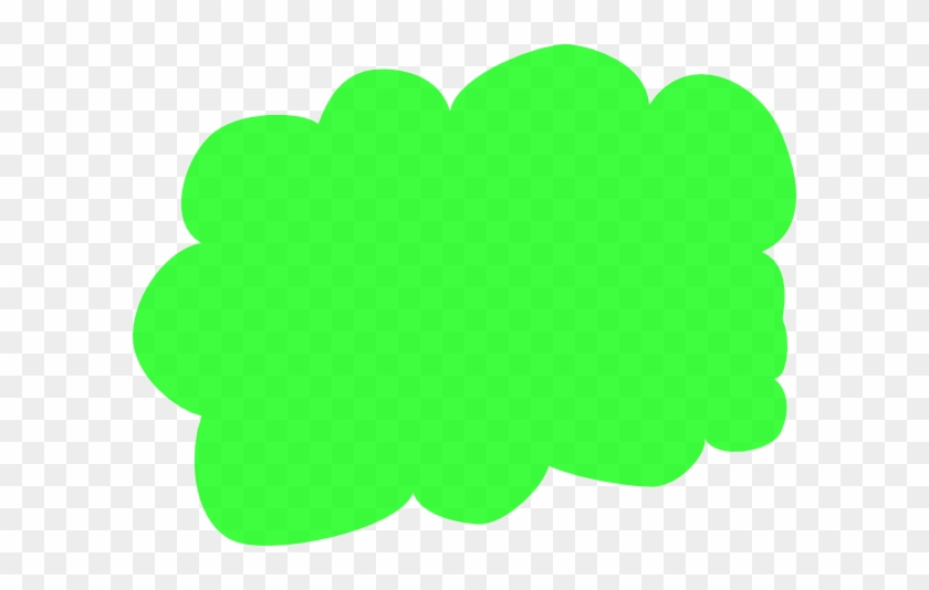 Clouds Clipart Gas Cloud - Green Cloud Clipart #57096