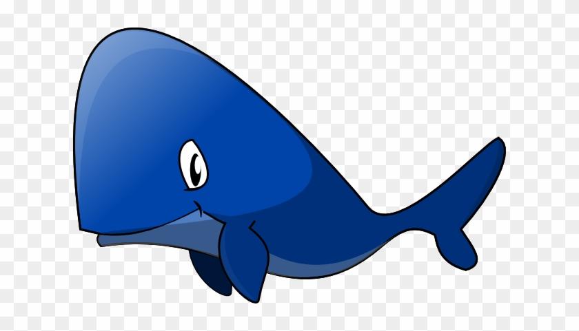 Whale Clip Art - Blue Whale Clipart Png #57175