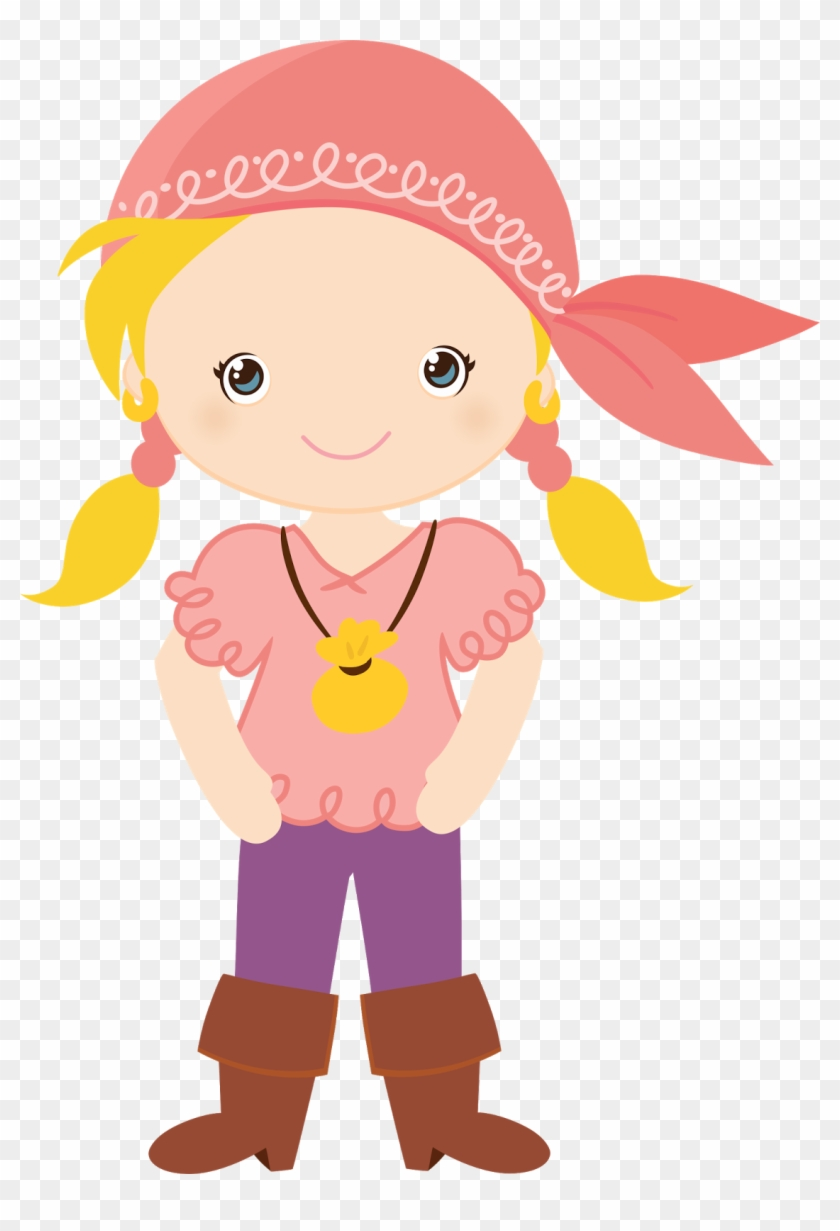 Pirate Shipspirate Partysvg Filefree File - Pirate Girl Clipart #57203