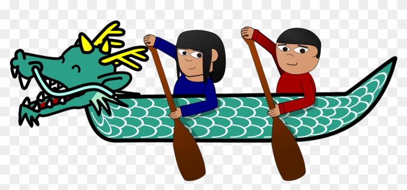 Dragon Boat Festival China Cartoon Holiday - Dragon Boat #57205