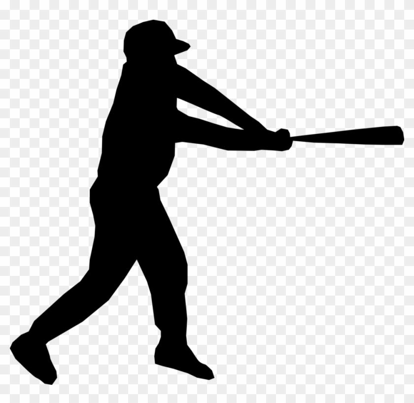 Sports Scores - Clip Art Baseball Player #57381