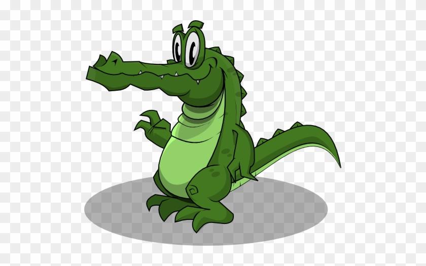 Alligator Clip Art Page 1 Public Domain Alligators - Crocodile Cartoon Gif Png #57397