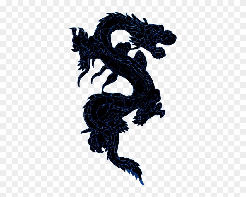 Dragon Clip Art Clip Art - Blue Chinese Dragon Transparent #57402
