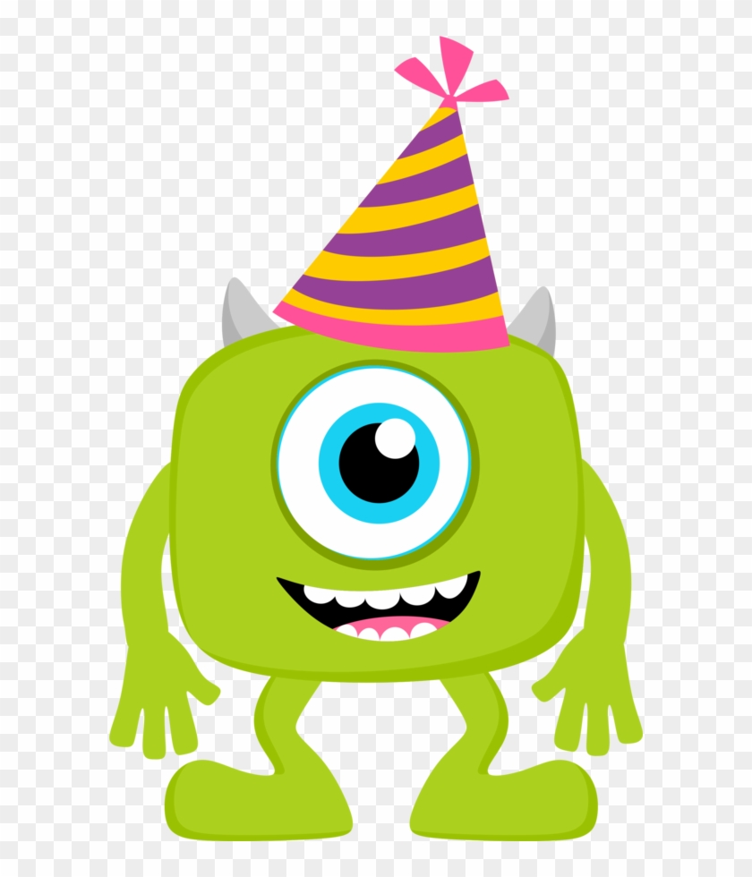 Baby Monsters Party Clipart - Baby Monster Inc #57510