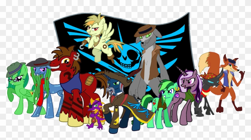 The Pirates Of The Alicorn By Moheart7 - Pirate Ship Mlp #57588