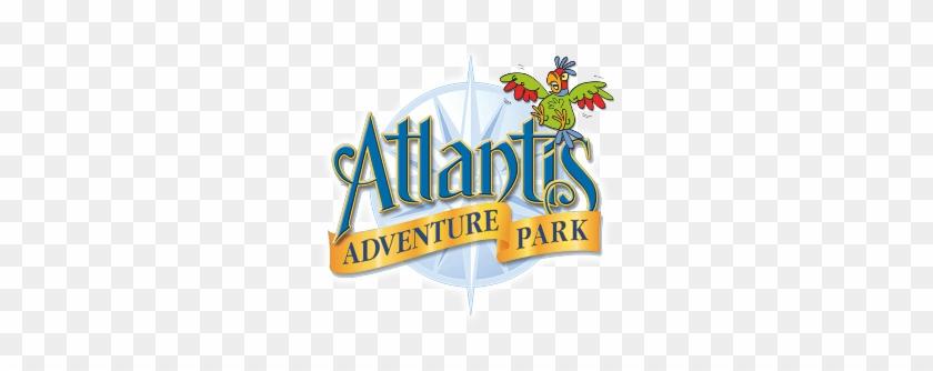 The Pirate Ship Adventure Playground Is Where Children - Atlantis Adventure Park Logo #57616