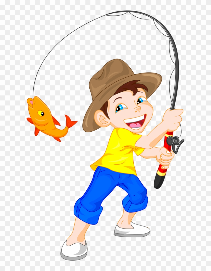Craft - Fishing Clipart Png #57721