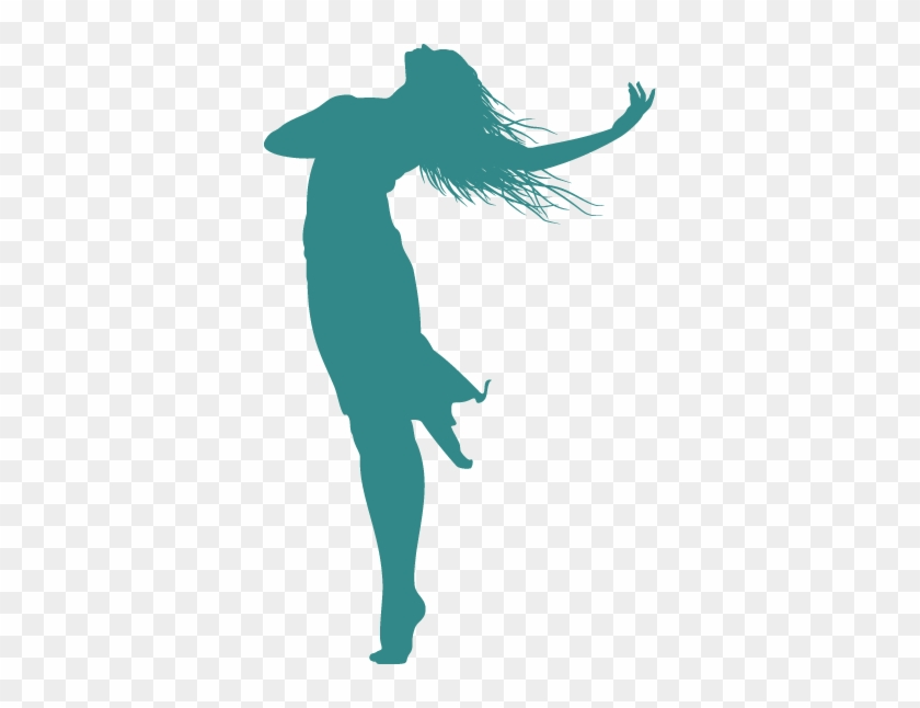 Praise Dance Silhouette Clip Art - Praise Dance Silhouette #57861
