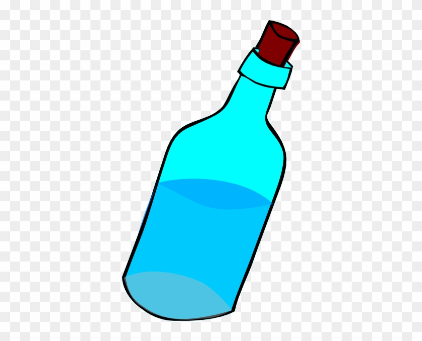 Cartoon Water Bottle Clip Art Clipart Free Clipart - Glass Bottle Cartoon Png #57911