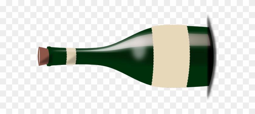 Clip Art Wine Bottle #57915