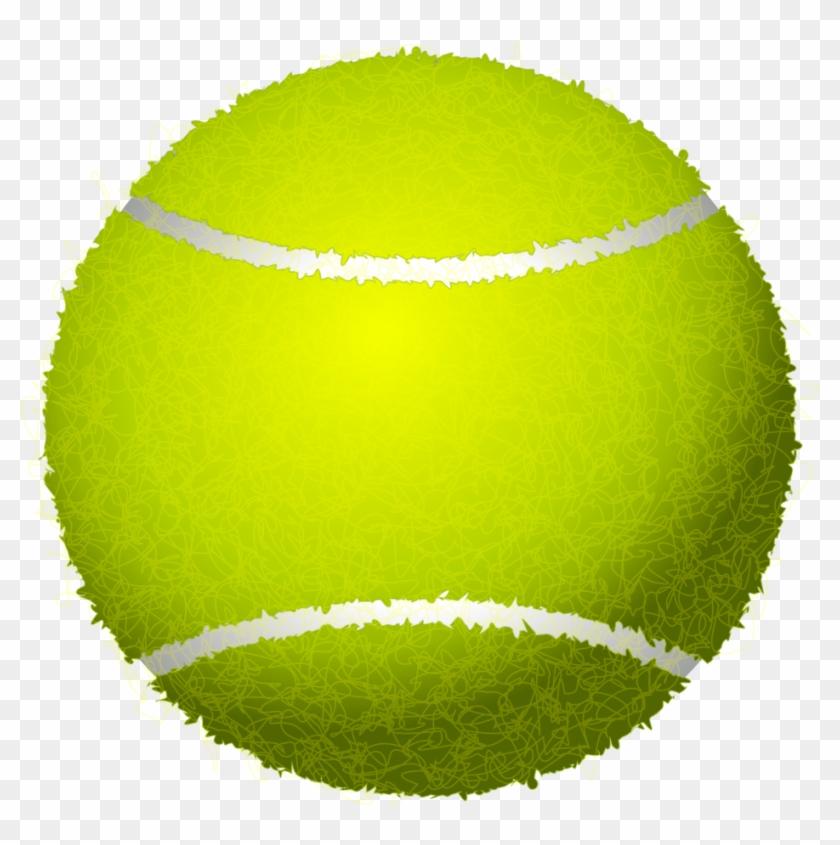 Tennis Ball Clip Art Png - Tennis Ball Clipart Png #57928