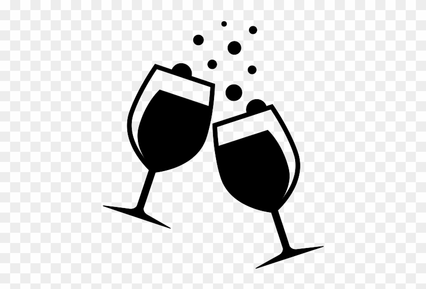 Transparent Background Wine Glass Clipart #57936