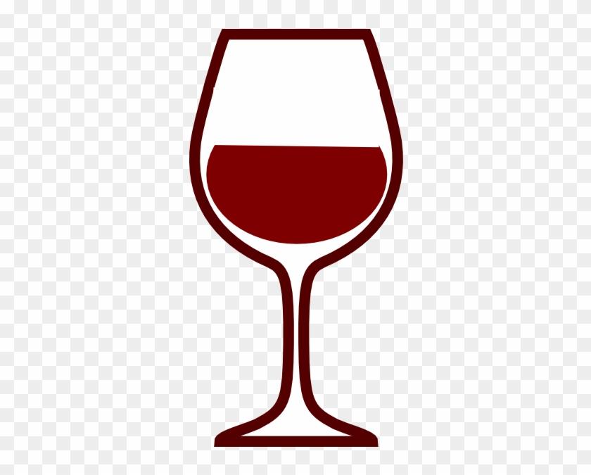 Glass Silouhette Clip Art - Glass Of Wine Clip Art #57964