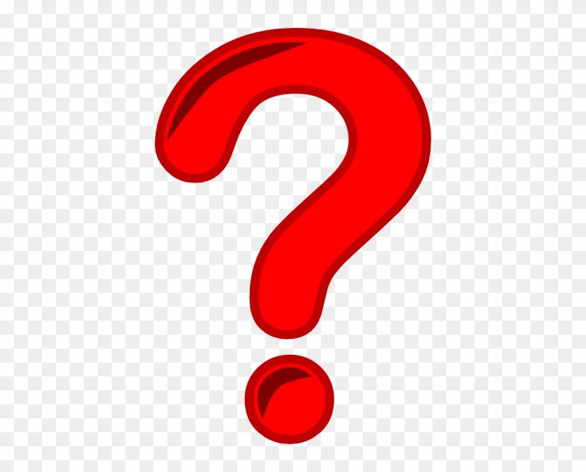 Sensational Idea Questions Clipart Smart Ideas Question - Red Question Mark Png #58037