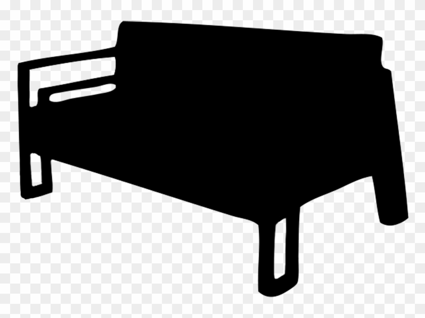Couch Silhouette Couch Black And White Clip Art With Transparent