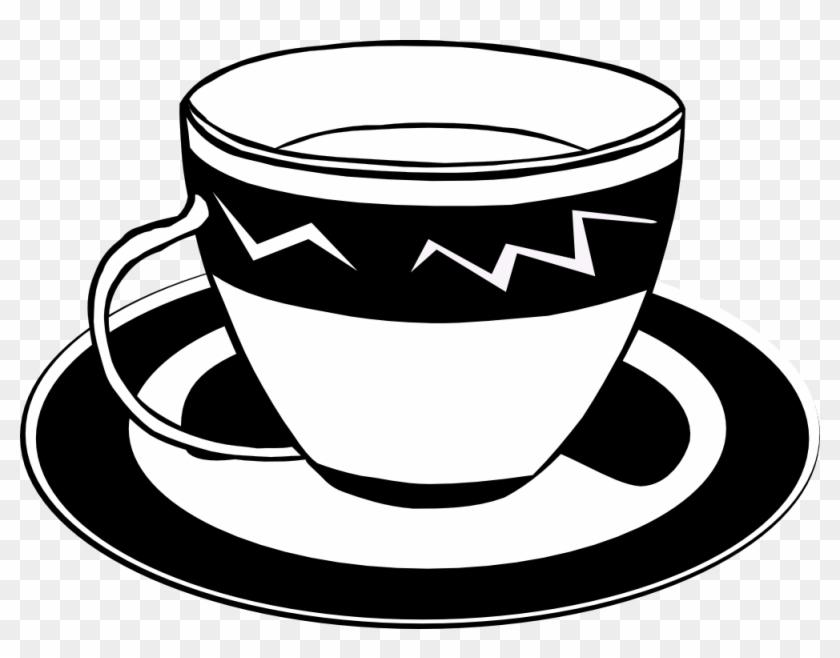 Gerald G Fast Food Dishes Ff Menu 5 Coloring Book Colouring - Tea Cup Clip Art #58487