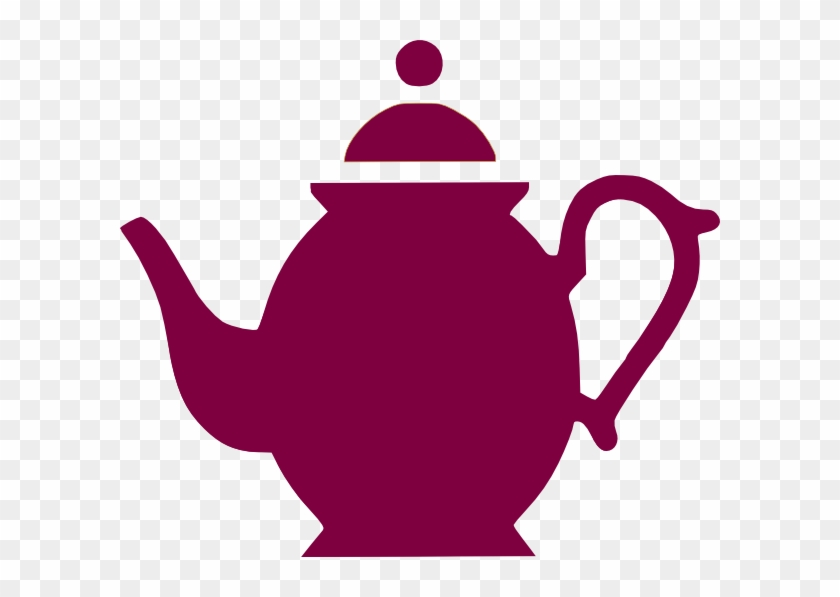 Pouring - Coffee - Pot - Clipart - Purple Tea Pot Clip Art #58497