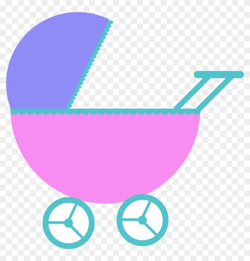 Pretty Ideas Baby Shower Clip Art Clipart Stroller - Toddler #58562