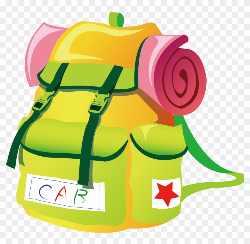 Travel Backpacks 1969px 417 - Camping Backpack Clip Art #58600
