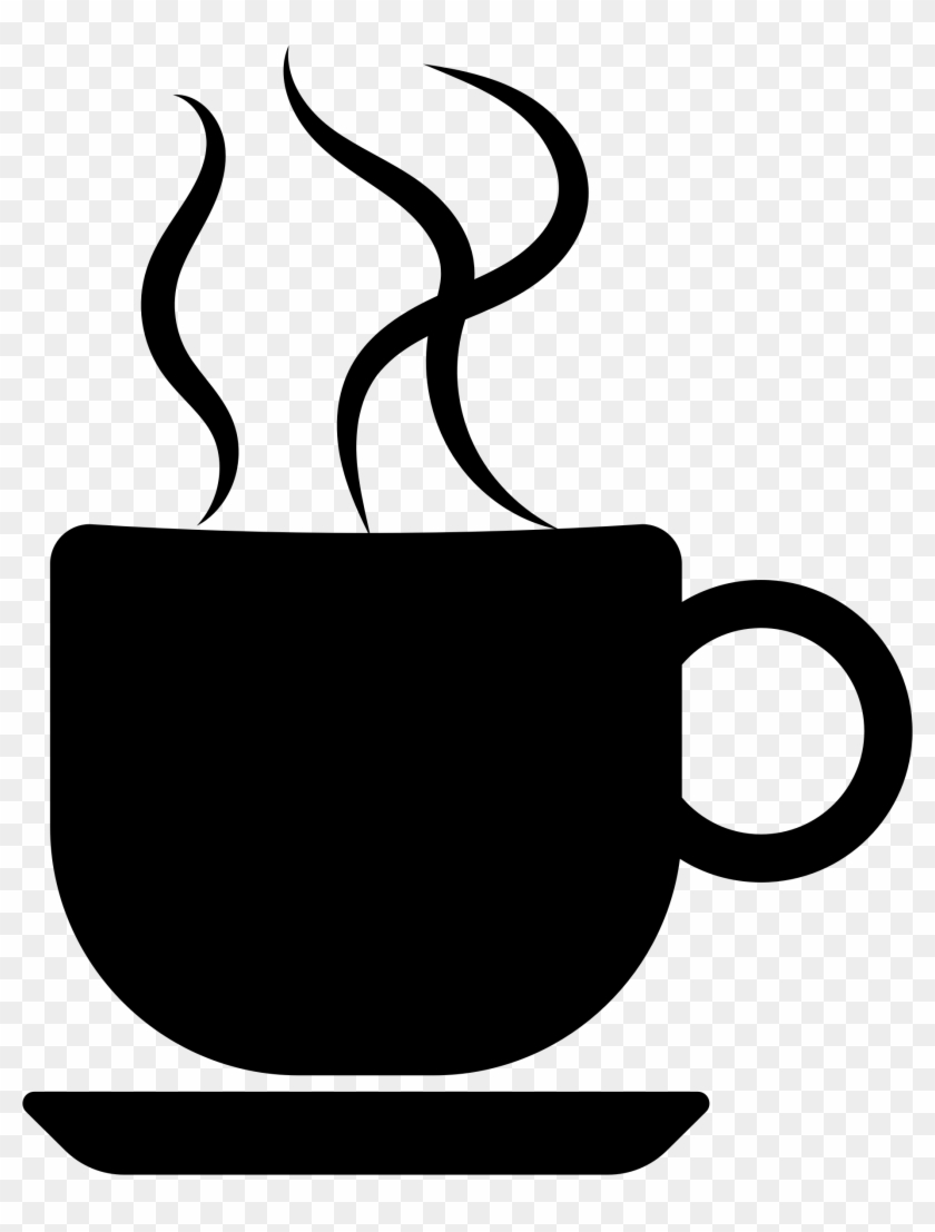 Cup Clipart Silhouette - Coffee Cup Clip Art #58712
