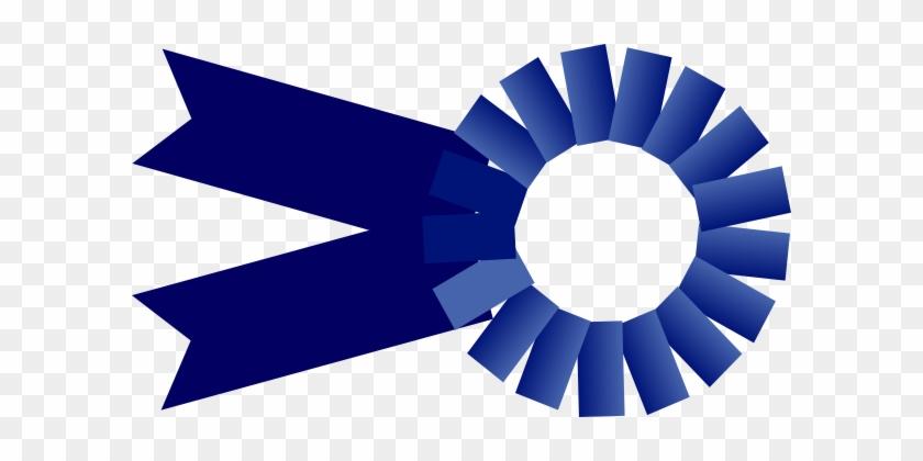Blue Ribbon Large Clip Art - 1st Place Ribbon #58750