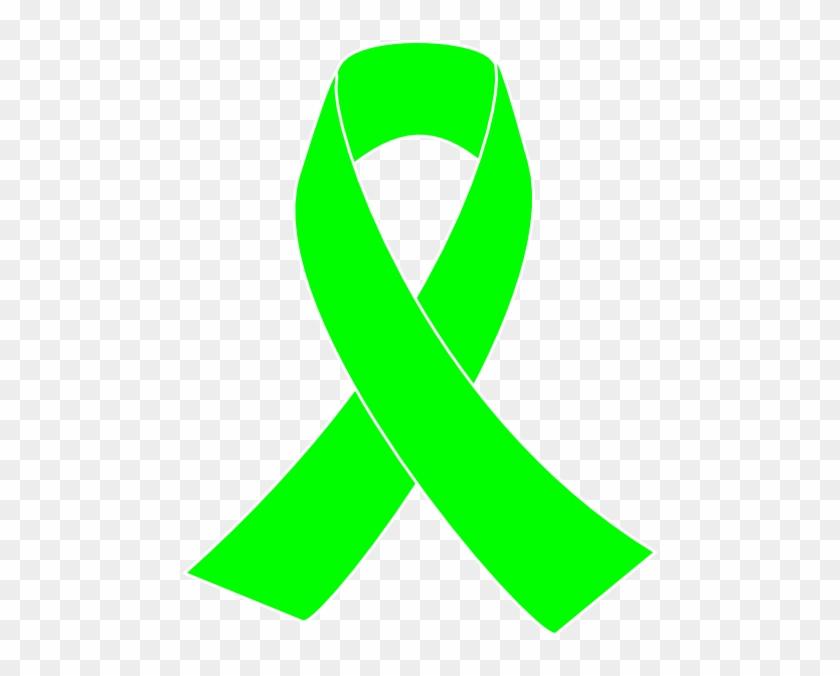 Lymphoma Ribbon Lime Green Awareness Ribbon Free Transparent Png
