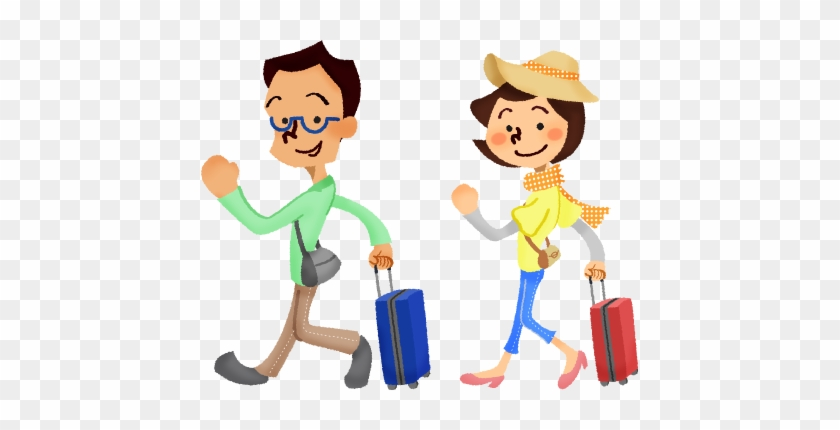 Couple Who Travel Abroad Family Walking Clipart Free Transparent Png Clipart Images Download