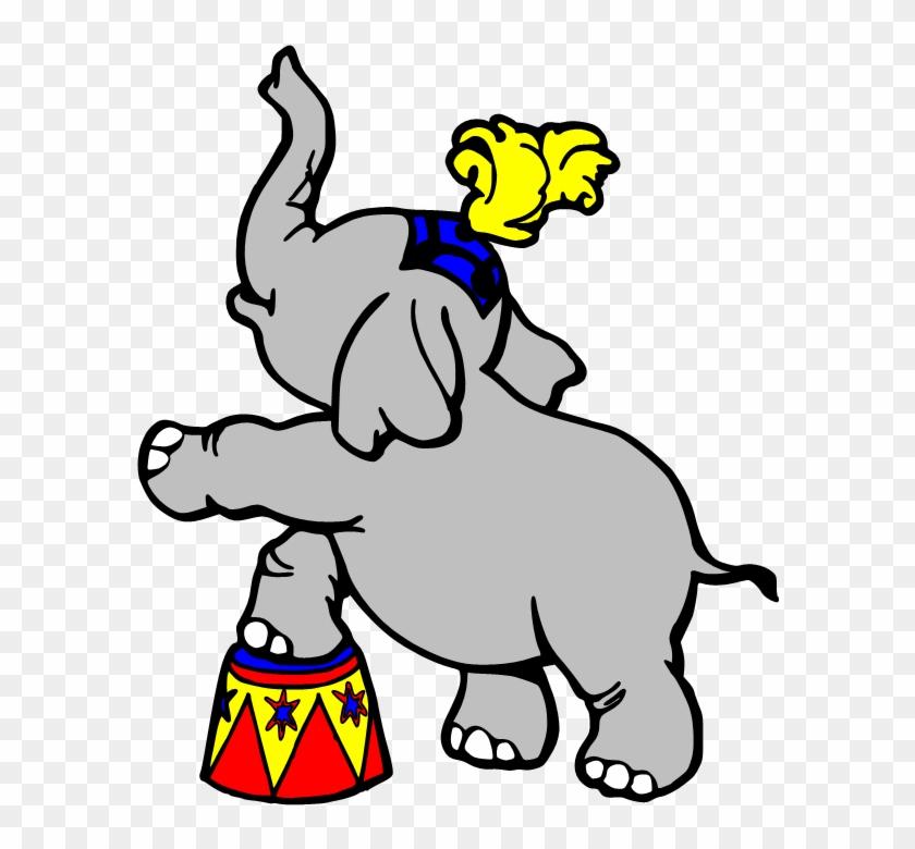 Circus Clip Art 2 Clipartcow - Clip Art Circus Elephant #58830