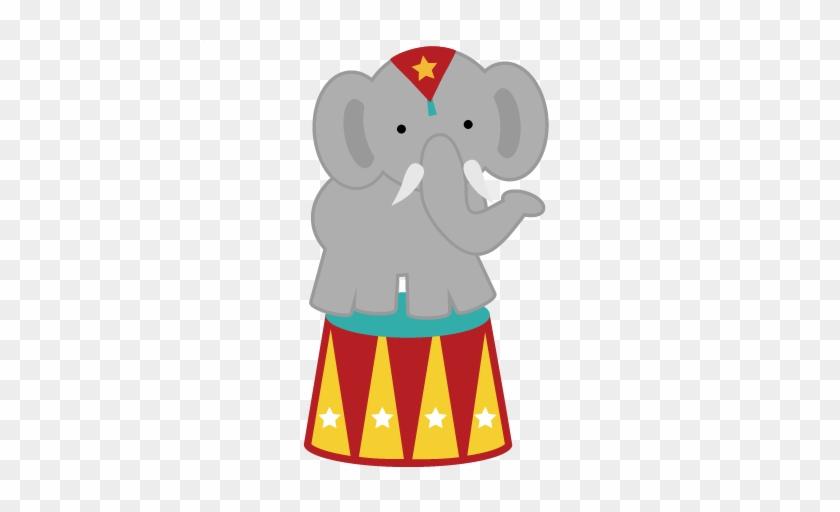 Clip Art - Circus Elephant Clipart #58831