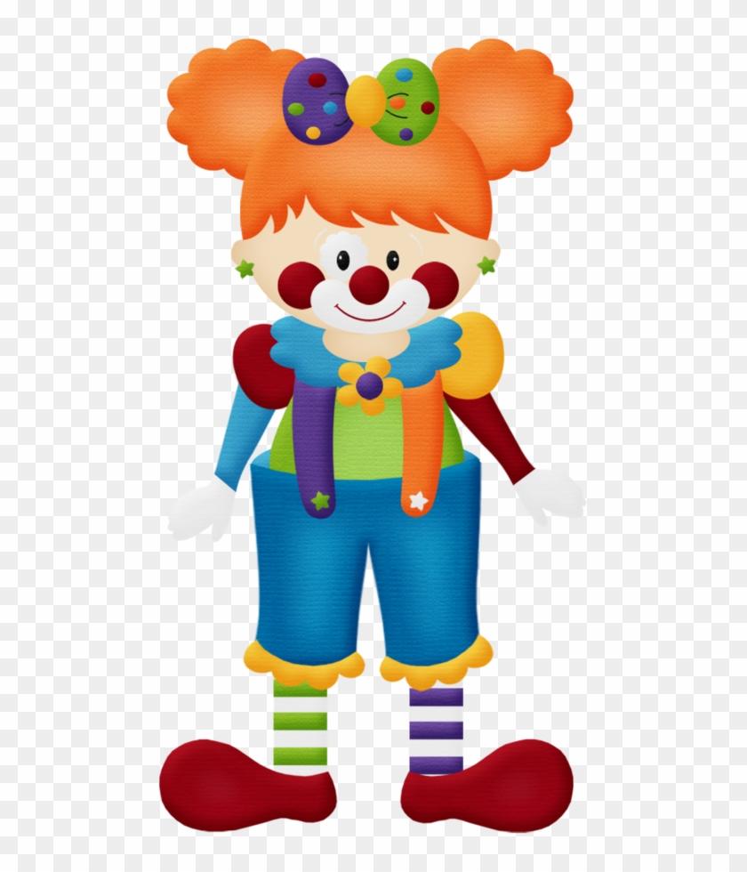 Aw Circus Clown Girl - Clown Girl Png #58832