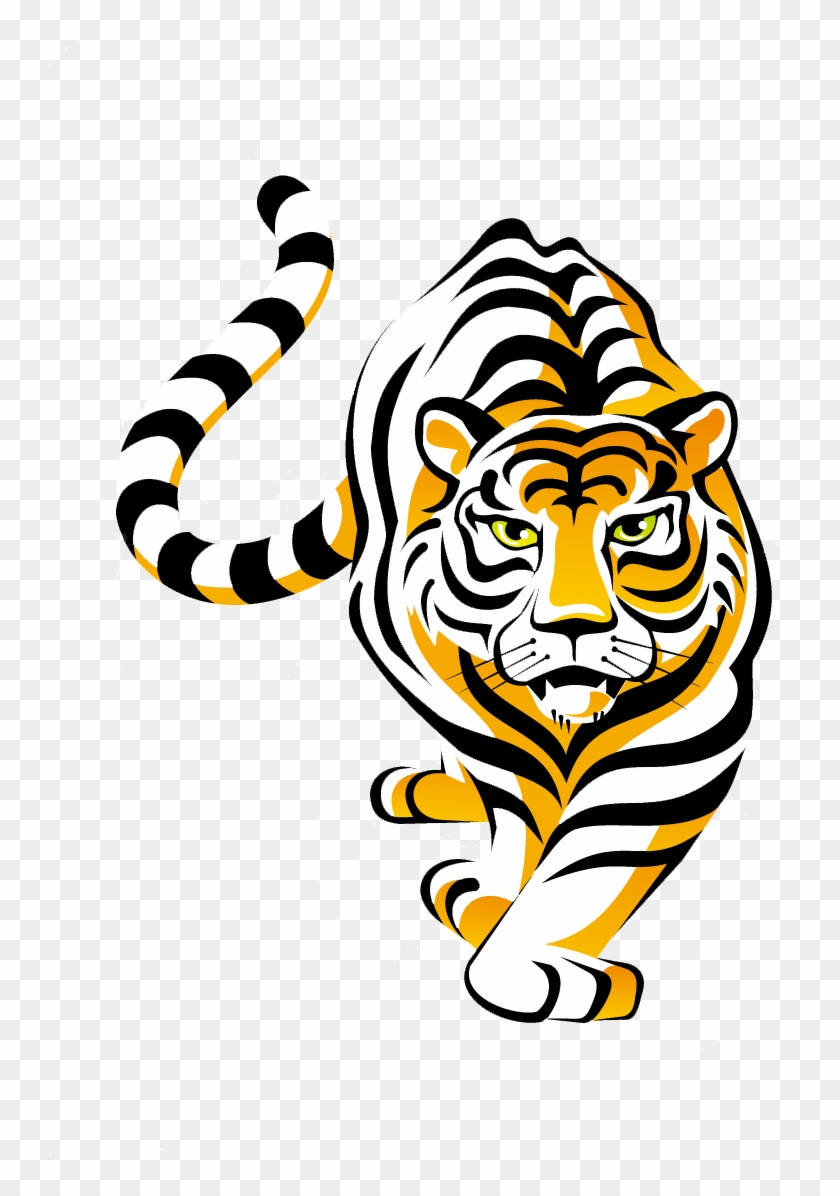 Tiger Clipart Cooking - Tiger School Mascot #58846