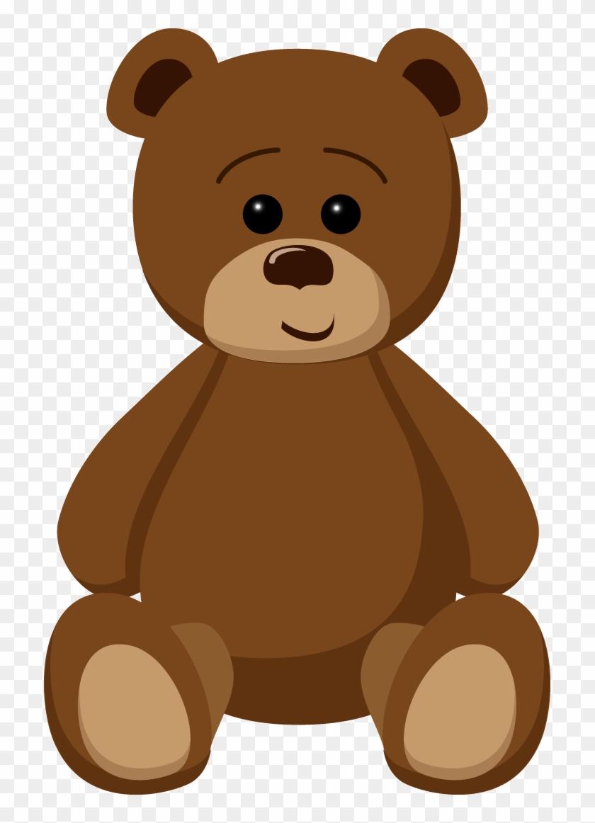 Teddy Bear Two - Teddy Bear Clipart Png #58906